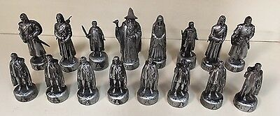 Lord of the Rings Chess Set Fellowship of the Ring Good Side 16 Pieces