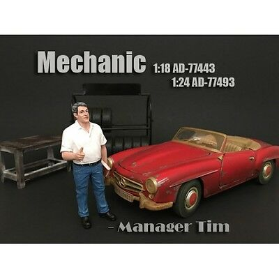 1/18 American Diorama Mechanic - Manager Tim for your garage/shop- AD-77443