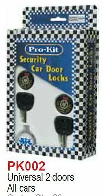 1 X Security Car Door Locks JAPANESE EURO PICKUP PKT 2 ALL CARS 2 DOORS