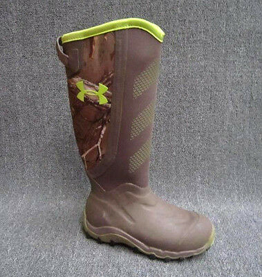 SIZE 10 UNDER ARMOUR HAW 2.0 Hunting Boot Men's 1261933-946 Realtree madillo