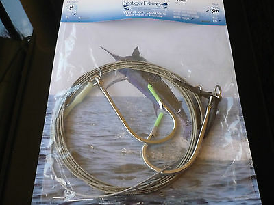 shark trace 12/0  double hook wire leader lures game fishing line stainles wire