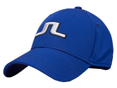 J.Lindeberg Angus Tech Stretch Cap 76 - Strong Blue