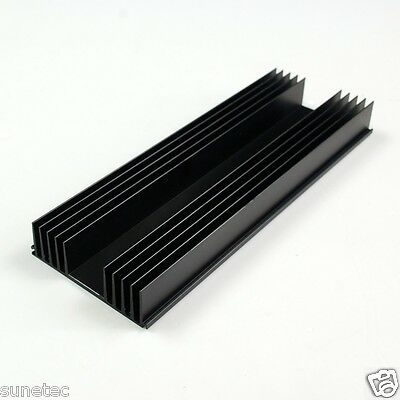 SS5120 Aluminum Black Heatsink Heat Sink Audio Amplifier