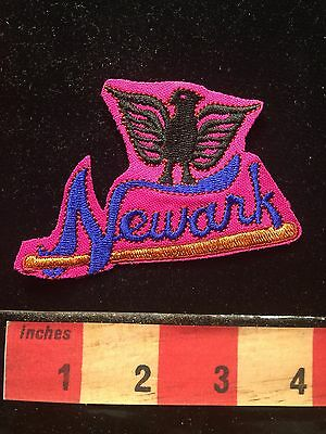 Newark Eagles New Jersey Patch-ish Embroidered Cutout Negro Leagues Baseball68WK