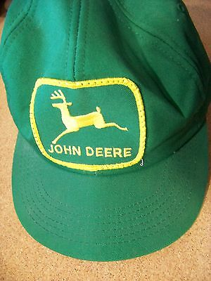 John Deere baseball cap hat green adjustable small possibly youth Northwest Equp