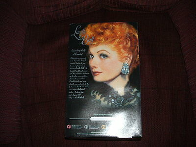 New I Love Lucy Barbie Doll  Lucy Anniversary Box Never Open