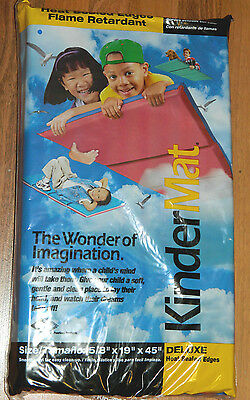"""New Lot of 2 KinderMat Sleeping and Exercise Mat 5/8""""x19""""x45"""""""