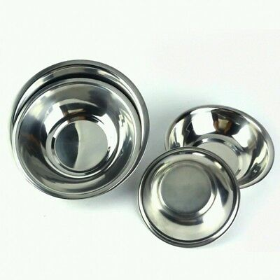 Stainless Steel Kitchen Cooking Serving Mixing  Storage Bowls 3 Sizes Hot Sale