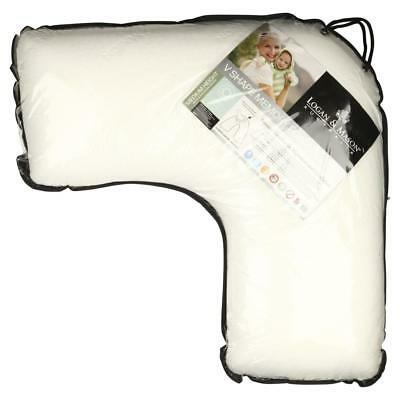 NEW Logan & Mason Australia V Shaped Memory Foam Pillow By Spotlight