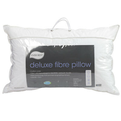 NEW Ever Rest Deluxe Fibre Pillow By Spotlight