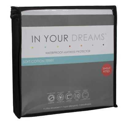 NEW In Your Dreams Waterproof Mattress Protector By Spotlight