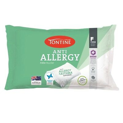 NEW Tontine I'm Allergy Sensitive Firm & High Pillow By Spotlight