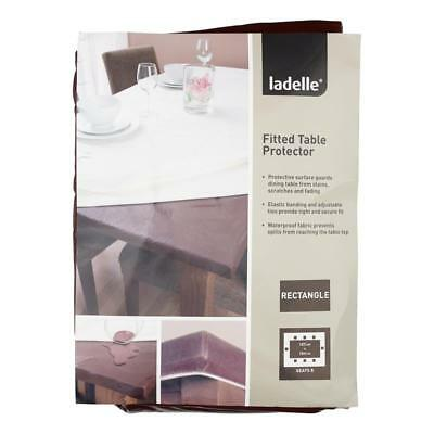 NEW Ladelle Inhabit Rectangle Fitted Table Protector By Spotlight