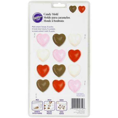 NEW Wilton Hearts Chocolate Mould By Spotlight