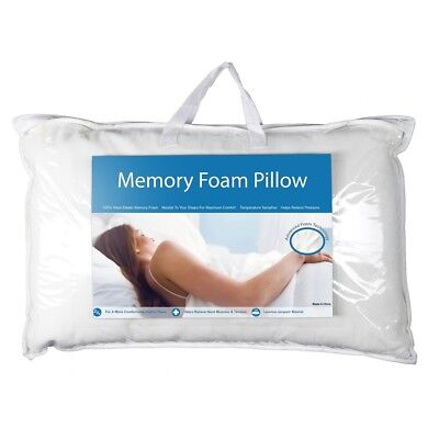 NEW My Memory Foam Blue Pack Pillow By Spotlight