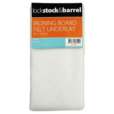 NEW Lock Stock & Barrel Ironing Board Felt Underlay By Spotlight