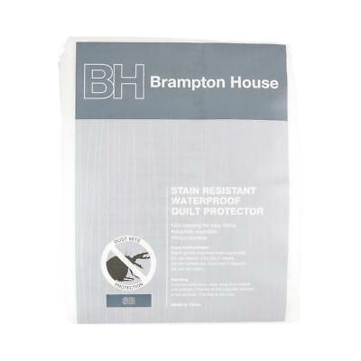 NEW Brampton House Waterproof Quilt Protector By Spotlight