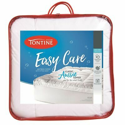 NEW Tontine Easy Care Mattress Topper By Spotlight