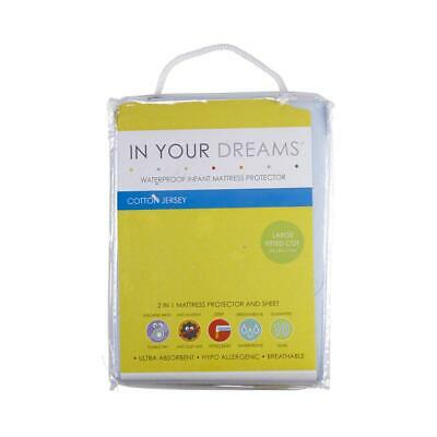 NEW In Your Dreams Large Fitted Mattress Protector By Spotlight