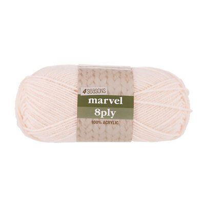 NEW 4 Seasons Marvel 8 Ply Yarn 100 g By Spotlight