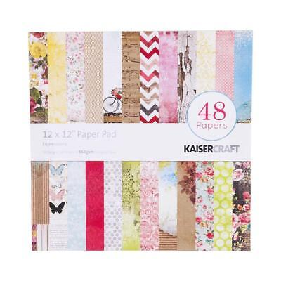 NEW Kaisercraft Expressions Paper Pad By Spotlight