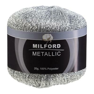 NEW Milford Metallic Yarn 20 g By Spotlight