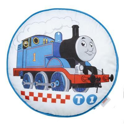 NEW Thomas & Friends Rail Race Round Cushion By Spotlight