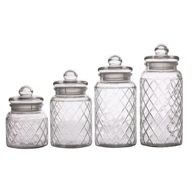 NEW Casa Domani Trellis Storage Jar Set By Spotlight
