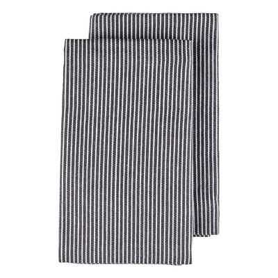 NEW Stripe Woven Tea Towels By Spotlight