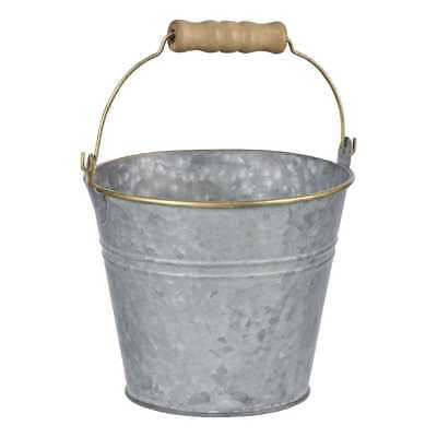 NEW Round Galvanised Bucket By Spotlight