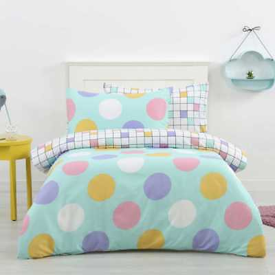NEW Ombre Blu Spot Quilt Cover Set By Spotlight