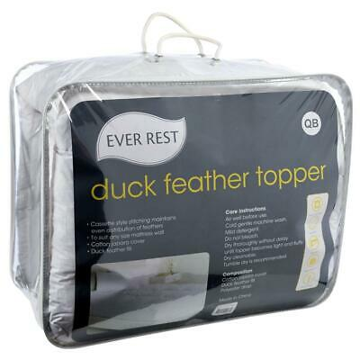 NEW Ever Rest Feather Topper By Spotlight