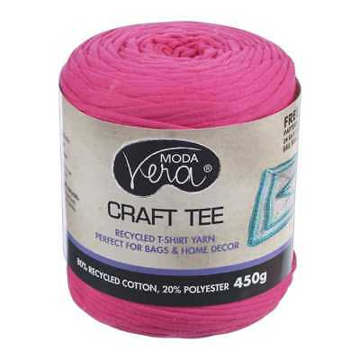 NEW Moda Vera Craft Tee Yarn 450 g By Spotlight