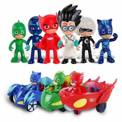 NEW HOT SALE PJ Masks Catboy/Owlette/Gekko Role Play Kids Party Mask AND DOLL