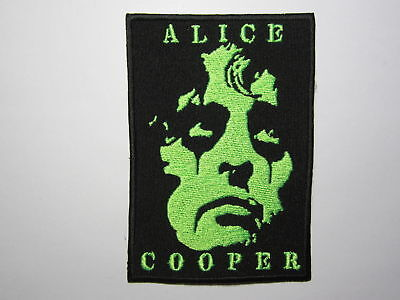 ALICE COOPER embroidered NEW patch