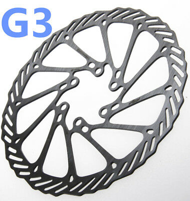 Bicycle Bike Cycling Brake Disc Rotor 6 Bolts For G3 140mm/160mm/180mm/203mm