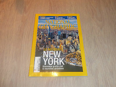 Revue National Geographic N° 195 De Decembre 2015 / Le Nouveau New York