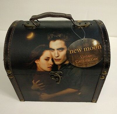 """NEW Neca Twilight New Moon Movie """"Edward and Bella"""" Vintage Carrying Case Box"""