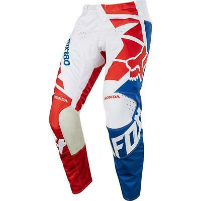 NEW Fox 2018 180 Honda Red Pant from Moto Heaven