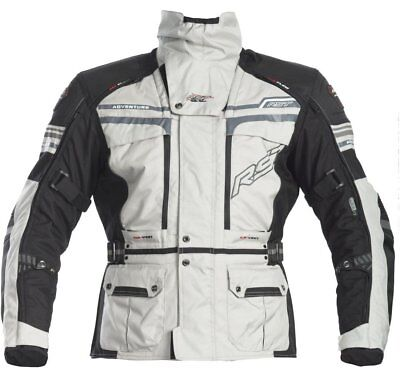 RST Jacket Pro Series Adventure 2 Black Silver Run Out Sale Was $499