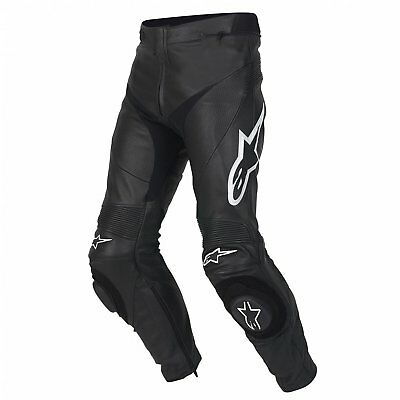 NEW Alpinestars Track Leather Pants - Black from Moto Heaven