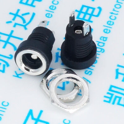 20pcs/lot DC Power adapter dc jack connector DC022B 5.5*2.1mm free shipping