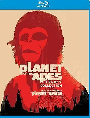 PLANET OF THE APES {LEGACY Collection} (Blu-Ray- 5 Disc /5 Movie Box Set) {NEW!}