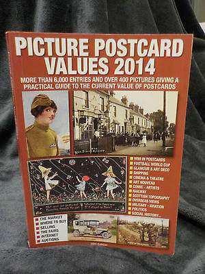 NEW Picture Postcard Values 2014 RRP£13.95
