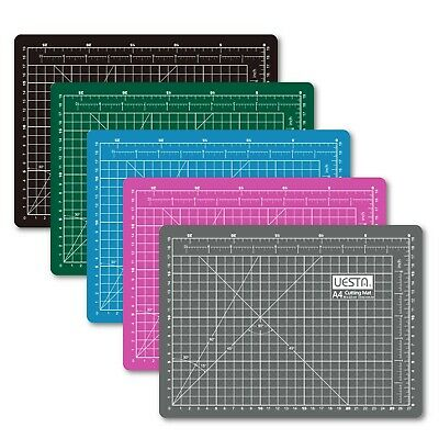 A4 Free Shipping 12L x 9W Inch Colorful 5 Layers PVC Self Healing Cutting Mat