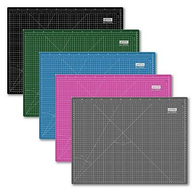 A2 Free Shipping 24L x 18W Inch Colorful 5 Layers PVC Self Healing Cutting Mat