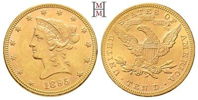 HMM - USA 10 Dollar 1895 Liberty / Coronet Head KM 102 Fr. 158 - 170913029