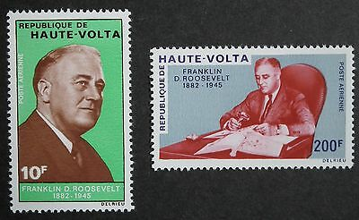 Upper Volta (1970) Franklin D Roosevelt Politician / Statesman - Mint (MNH)