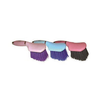 Stable Kit Bucket Brush Gel Handle - One Size - Pink