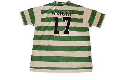 Ian Wright #17 Celtic 2000 Home Authentic Vintage Soccer/football Jersey. Xl